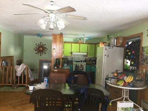 kitchen demolition & remodel