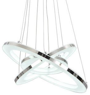 Unitary Modern White Led Pendant, Warm White contemporary-pendant-lighting
