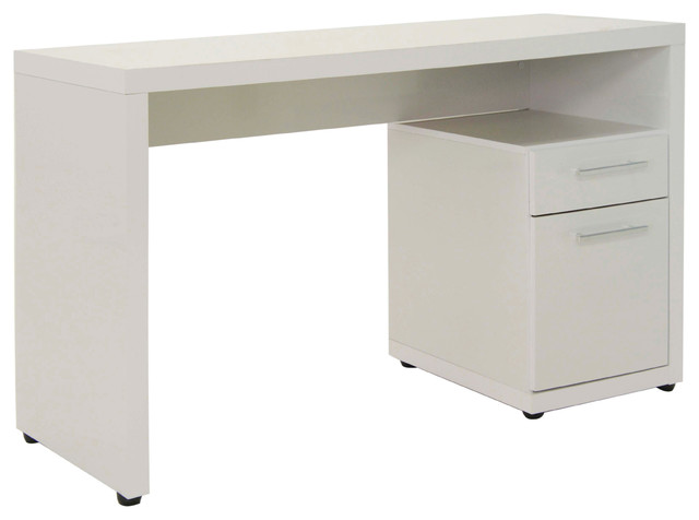 Helix Desk Contemporary Desks And Hutches By Just