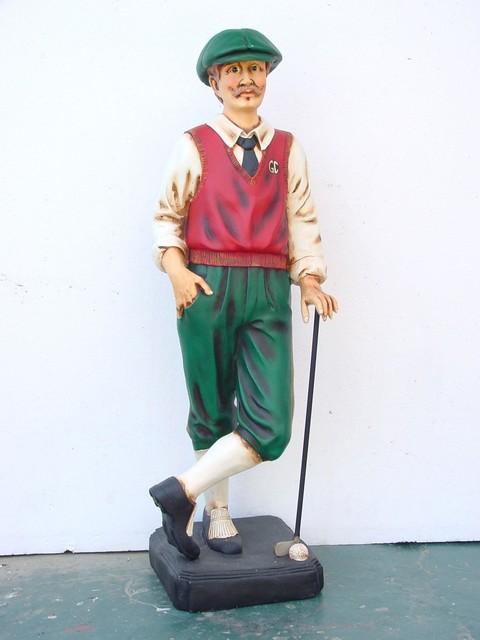 Golfer Statue 3 5ft