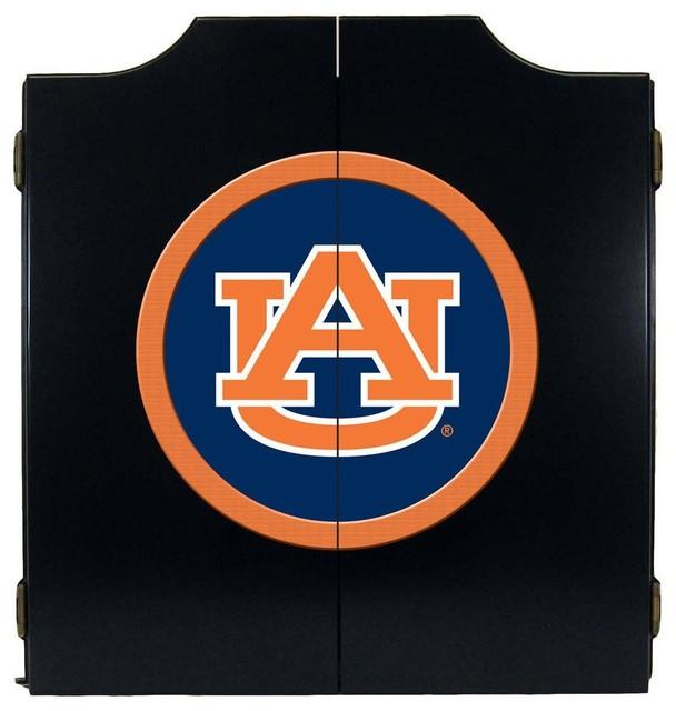 Wave 7 Auburn Tigers Dart Board Cabinet Amp Reviews Houzz