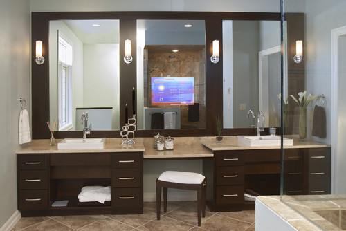 bathroom design by Seura - Please Show Me Your Makeup Vanity:)