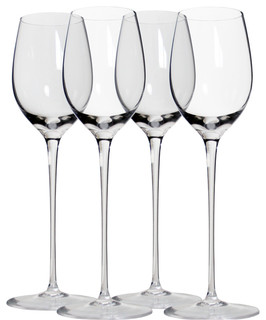 classic long stem wine glasses contemporary wine glasses by martinka crystalware lifestyle. Black Bedroom Furniture Sets. Home Design Ideas