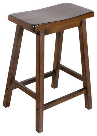 Fabulous Acme Gaucho Counter Height Stools Set Of 2 Walnut Uwap Interior Chair Design Uwaporg