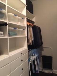 Master Walk-in closet in Greer, SC