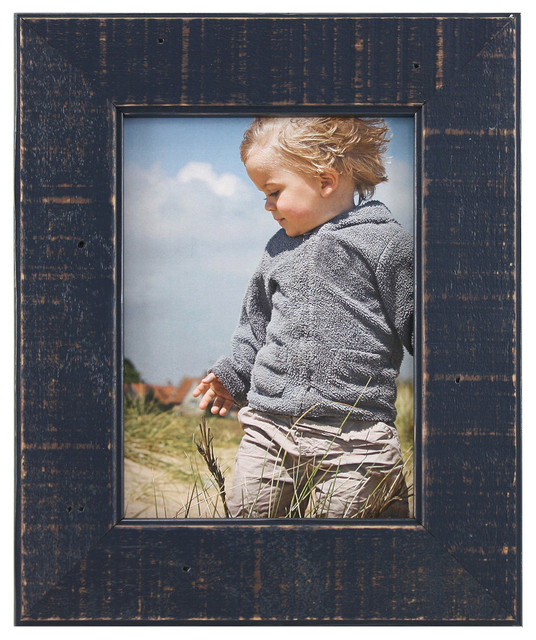 Dennia Reclaimed Wood Photo Frame Farmhouse Picture Frames By