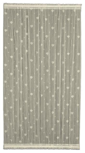 """Bee Door Panel, Ecru, 45""""x36""""."""