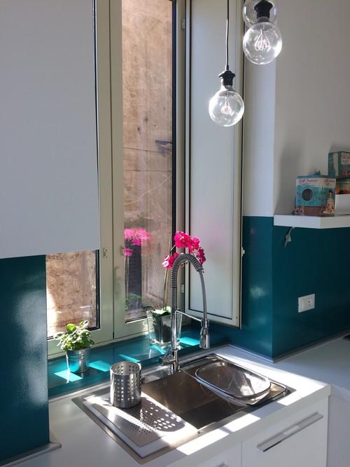 Rivestimenti bagno e cucine senza fughe resine - Piastrelle senza fughe ...
