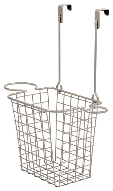 Over The Cabinet Hair Care Storage Center, Satin Nickel.