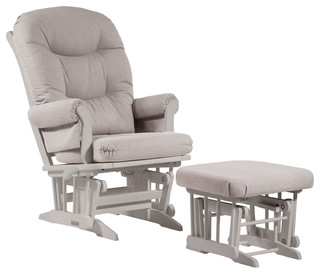 Dutailier Sleigh Glider-Multiposition, Recline and Ottoman Combo