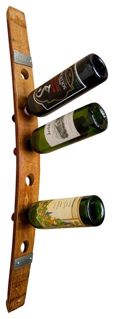 banded barrel wall mount wine rack for 6 bottles contemporary wine racks alpine wine design outdoor finish wine barrel