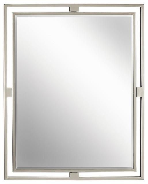 Kichler Mirrors, Brushed Nickel.