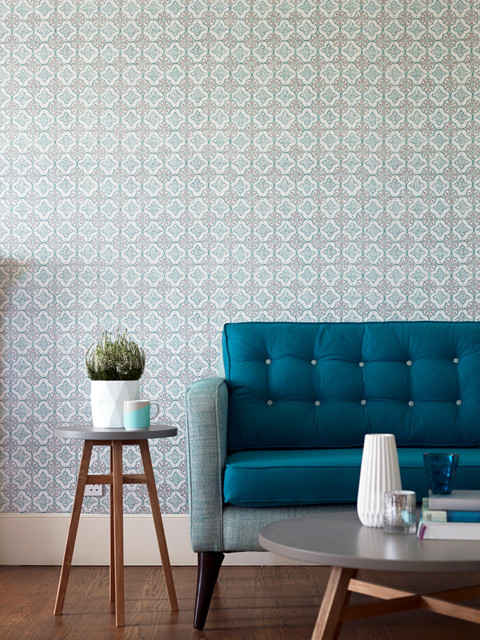 Modern Wallpaper Designs For Living Room: Living Room Wallpaper Ideas