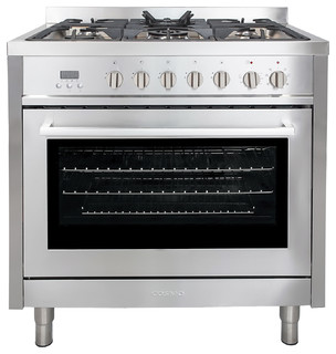 """Cosmo Dual Fuel Range, Natural Gas, 36"""" contemporary-gas-ranges-and-electric-ranges"""