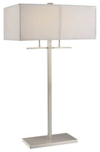 2-Light Table Lamp With Shade, 6092-09/sh7370.