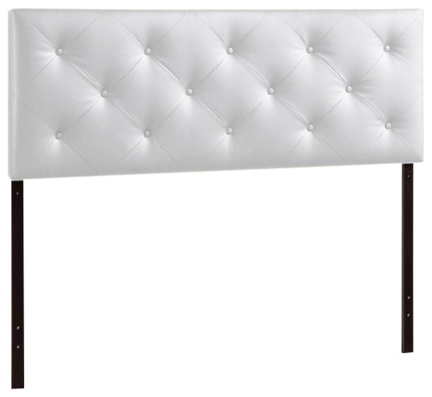 Baxton Studio Bedford Black Queen Headboard