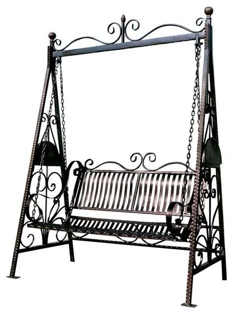 Rockaway Metal Garden Swing