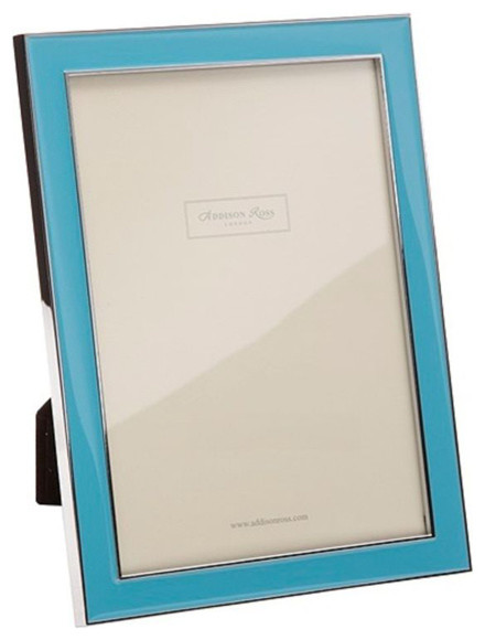 addison ross tiffany blue enamel frames 4x6 contemporary picture frames - Enamel Picture Frames