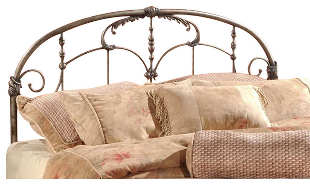 Hillsdale Jacqueline Headboard, Full/queen, Old Brushed Pewter -1293-490.