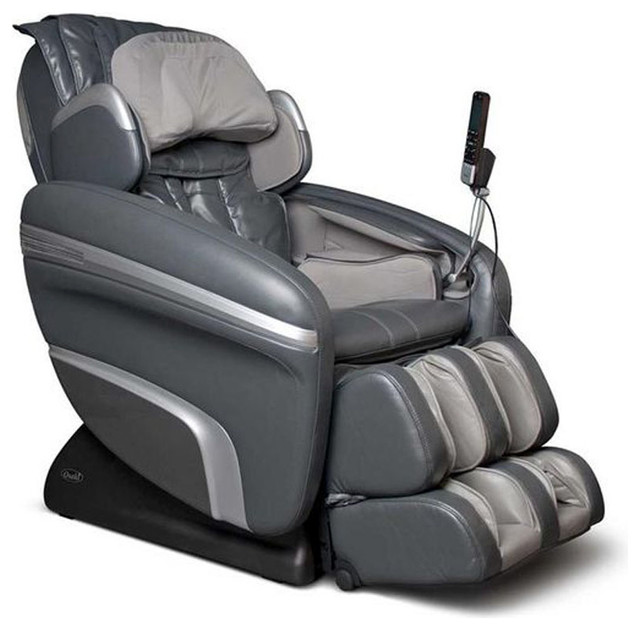 Charming Osaki Zero Gravity Massage Chair With Speakers, Charcoal