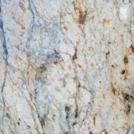 Various Sized Golden River Countertop Granite Slab