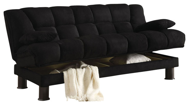 Stanley Futon Sofa Bed With Pillow Contemporary Futons