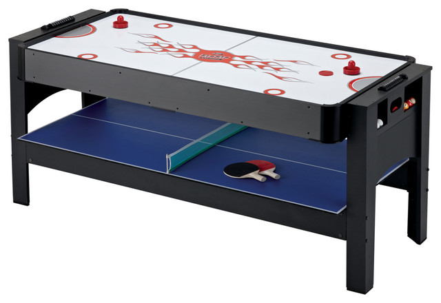 3 In 1 Games Entertainment Table Contemporary Game