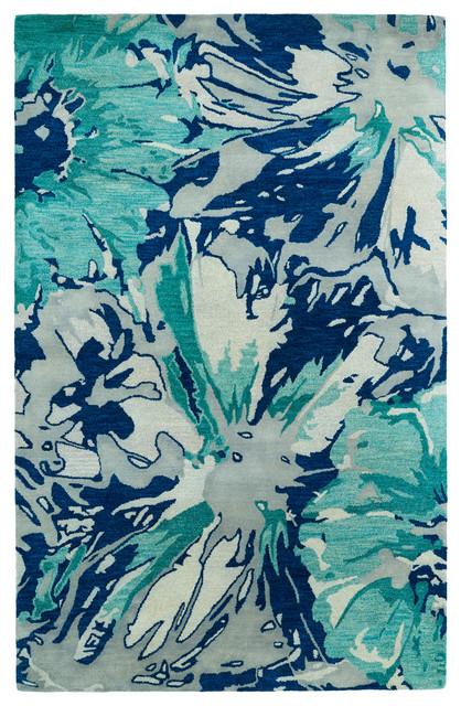 Kaleen Brushstrokes Collection Rug, 8&x27;x11&x27;.