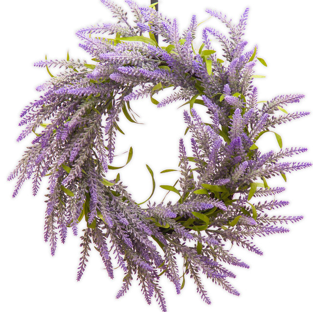 Lavender Spring and Summer Wreath SW950