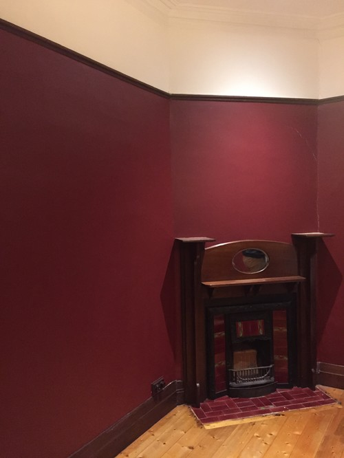 Colour advice dark wood skirting grey wall warm oak floor - How warm does it have to be to paint outside ...
