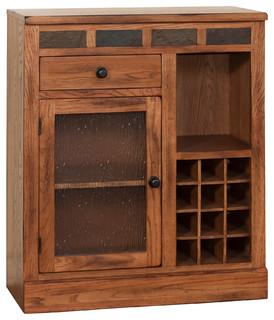 Sedona Mini Bar Farmhouse Wine And Bar Cabinets By