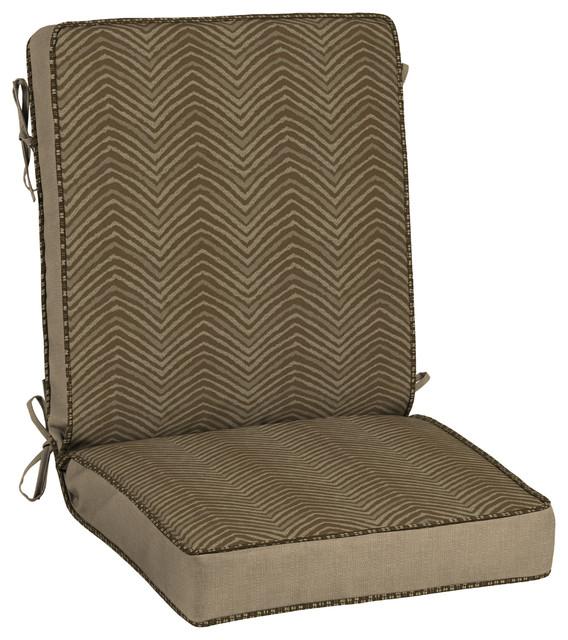 Bombay Outdoors Zebra Snap Dry, Chair Cushion