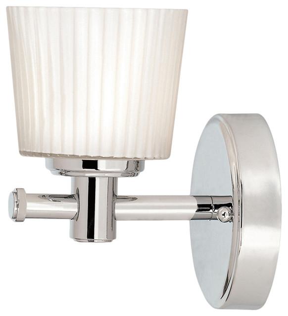Binstead Bathroom Wall Light, 1 Light