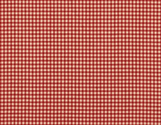 Round Red Gingham Tablecloth Designs