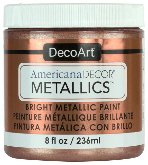 Americana Decor Metallics by Deco Art, Rose Gold