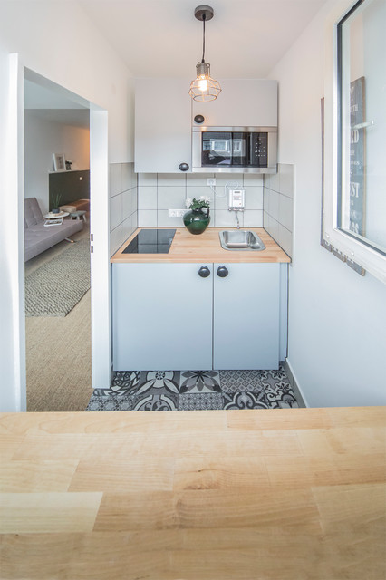 10 Tiny Kitchens With Clever Design Houzz Nz