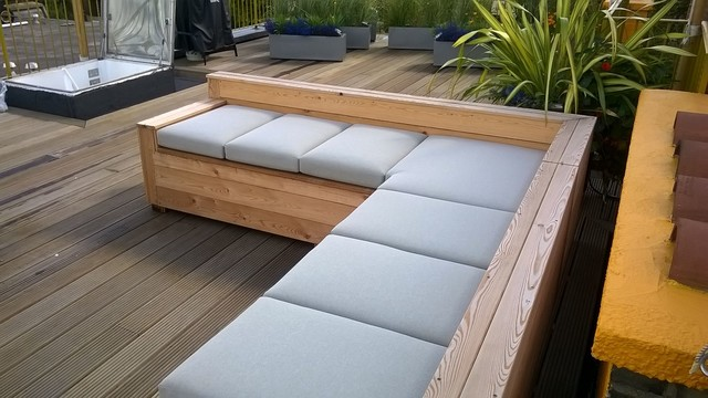 Wonderful Roof Terrace Furniture, West Hampstead Contemporary