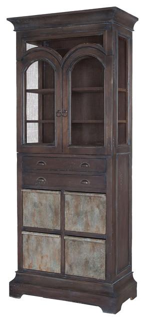 Guild Master Farmhouse Kitchen Display Cabinet