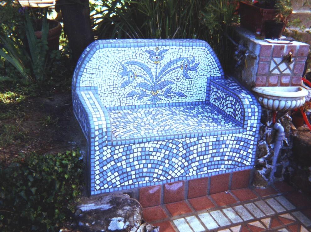 mosaic sitting