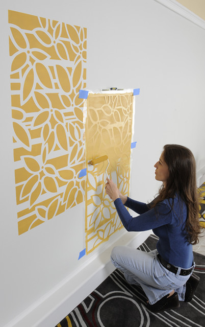 Trend Contemporary by Janna Makaeva Cutting Edge Stencils
