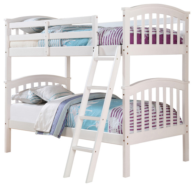 Donco Kids Columbia Bunk Bed, Twin Over Twin.