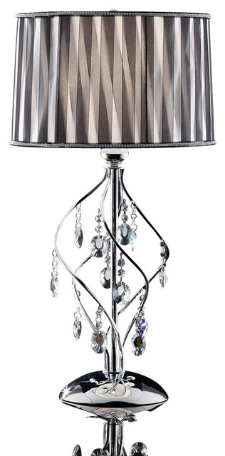 Lady Crystal Table Lamp.