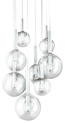 Sonneman Bubbles 8-Light Pendant.