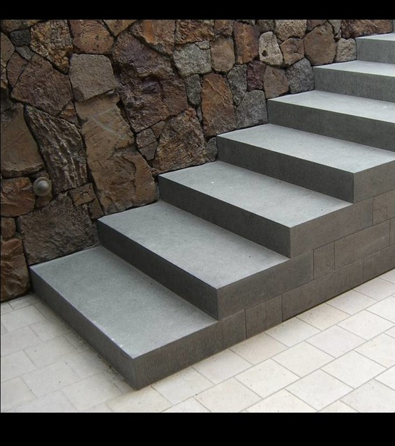 Incroyable Garden Elements   Granite Steps Modern