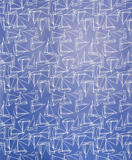 set sail wallpaper sample navy contemporary wallpaper