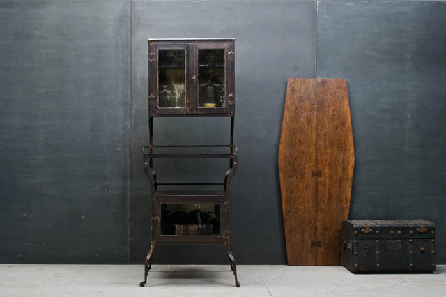 Rustic Victorian Apothecary Medical Cabinet - Eclectic ...