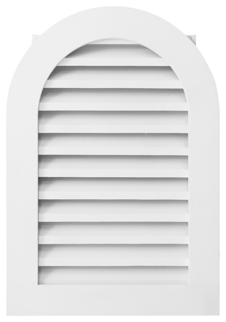 Cathedral Louver Vent, Vinyl.