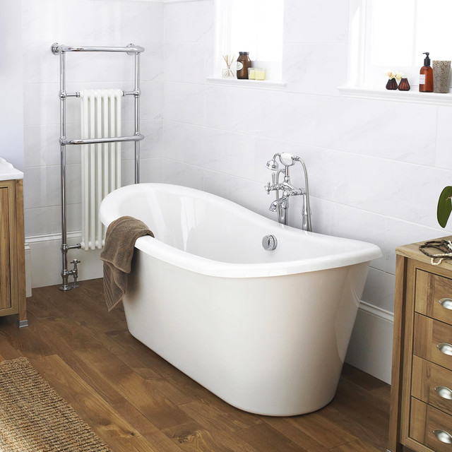 Old london greenford double ended freestanding bath - Change your old bathroom to traditional bathrooms ...