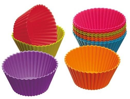 Colourworks 12-Piece Silicone Cupcake Cases