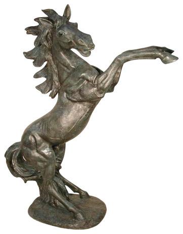 Rearing Horse 71 Design Sculpture, Rearing Horse Garden Statue